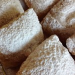 Dairy-free, peanut-free, tree nut-free, egg-free and gluten-free beignets